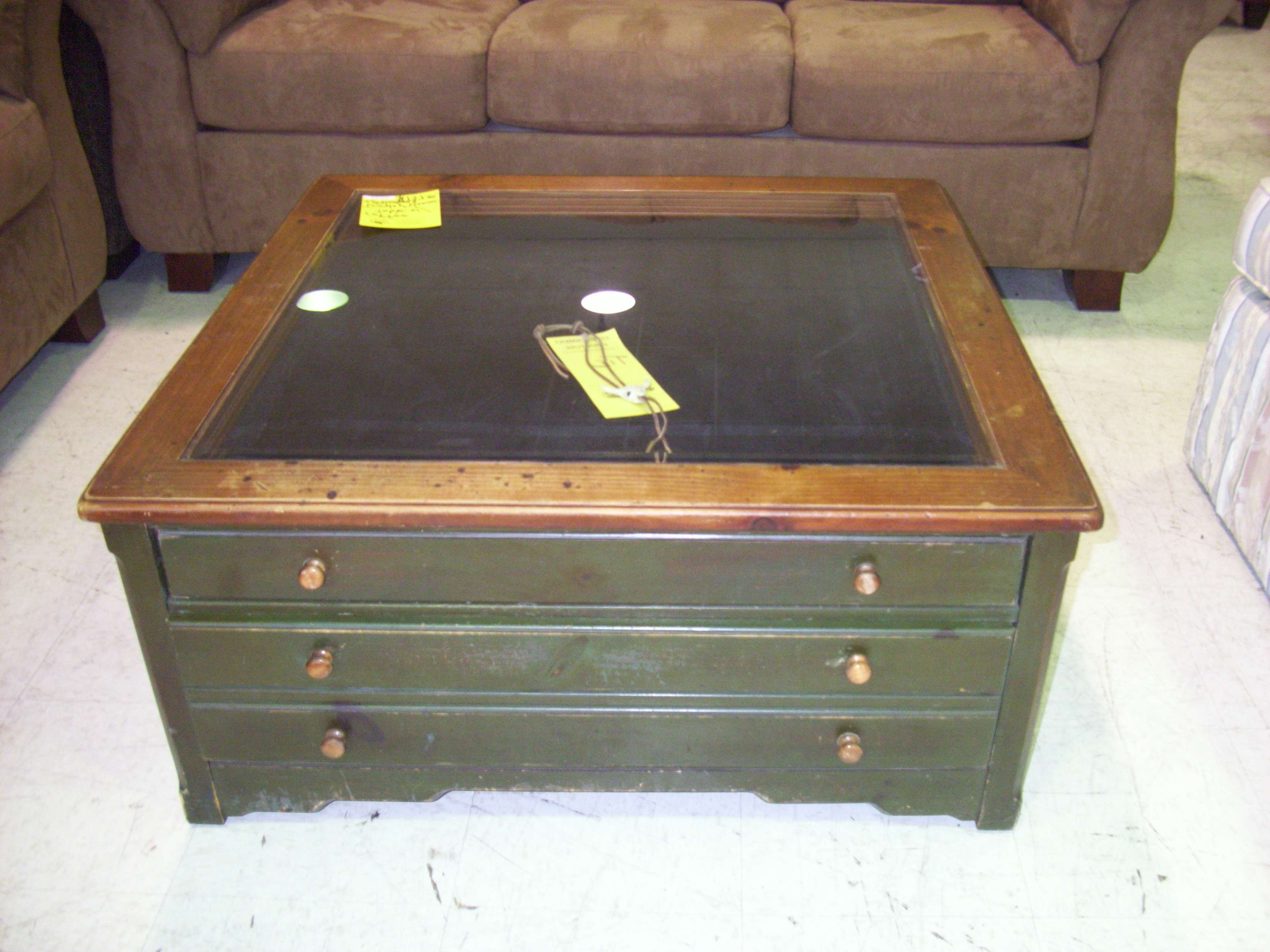 Coffee Tables Display Top Table Plans Gl Case With Well Known