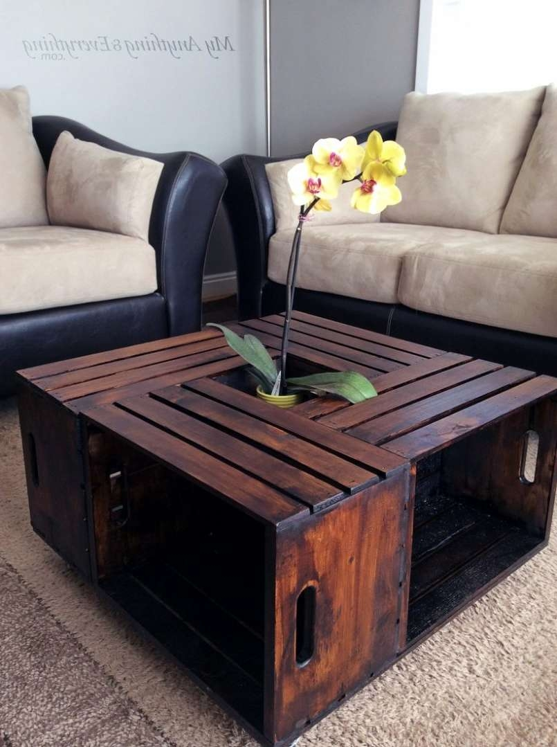 Coffee Tables : Diy Coffee Table With Storage Designs Outdoor With Regard To Well Liked Rustic Storage Diy Coffee Tables (View 9 of 20)