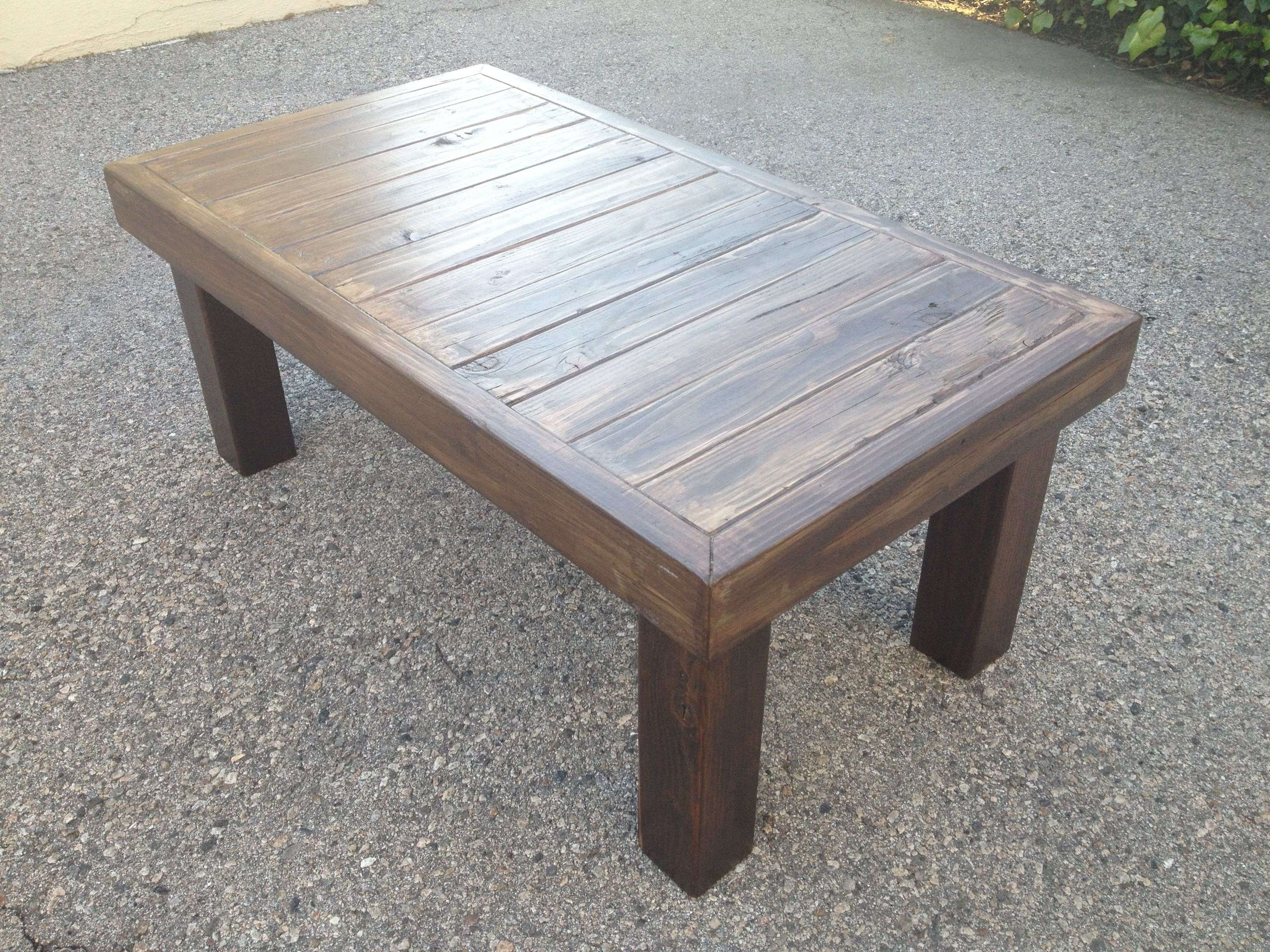 Coffee Tables : Download Best Of Outside Coffee Tables Table Ideas  Throughout Trendy Wooden Garden Coffee