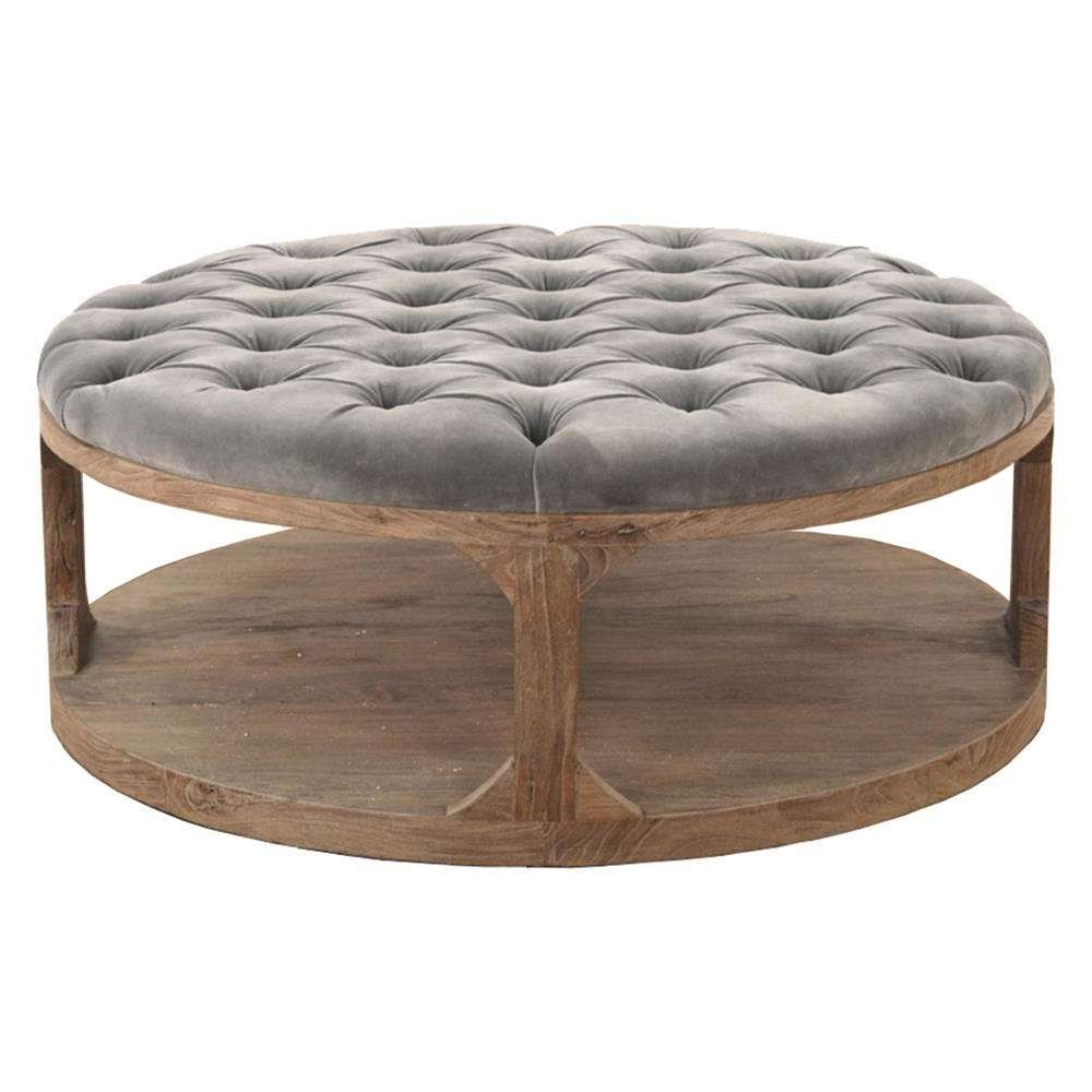 Coffee Tables : Exquisite Black Coffee Table Modern Wood White With Regard To 2017 Oversized Round Coffee Tables (View 12 of 20)
