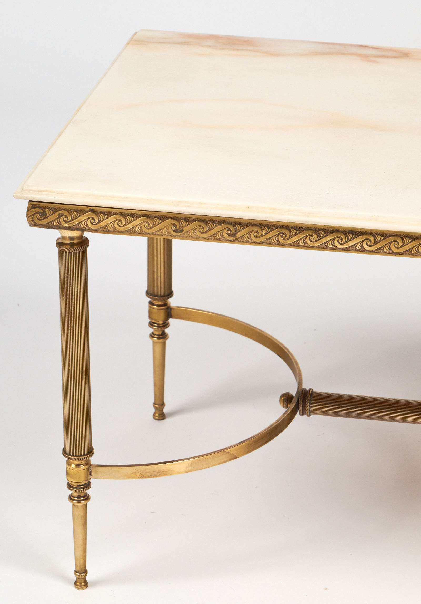Coffee Tables : Exquisite French Modern Brass Smoked Glass Coffee Pertaining To Most Recent Retro Smoked Glass Coffee Tables (View 18 of 20)