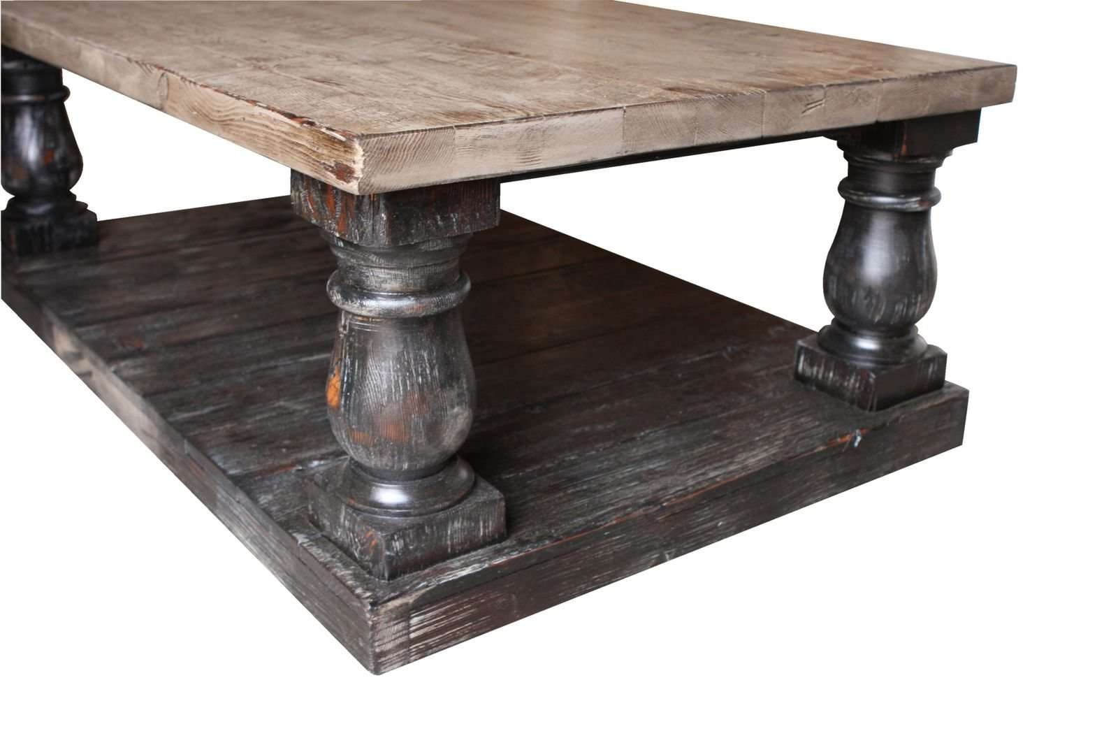 Coffee Tables : Exquisite Rustic Wood Coffee Table Square Tables Within Most Current Large Low Rustic Coffee Tables (View 7 of 20)