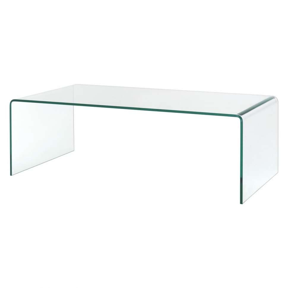 Coffee Tables : Extraordinary Clear Rectangle Simple Glass Coffee With Newest Simple Glass Coffee Tables (View 2 of 20)