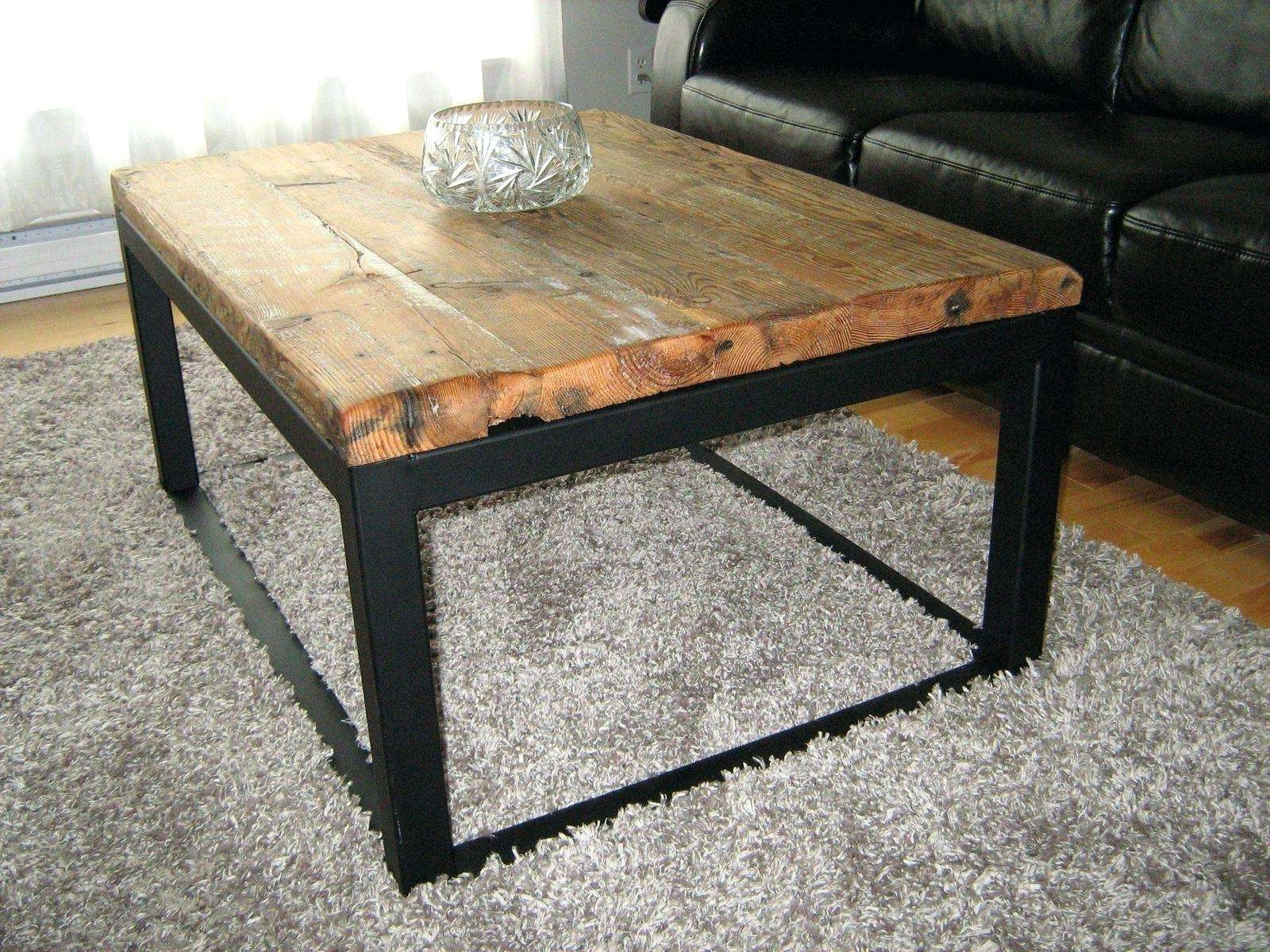 Coffee Tables : Furniture Industrial Coffee Table With Round With Preferred Low Industrial Coffee Tables (View 7 of 20)