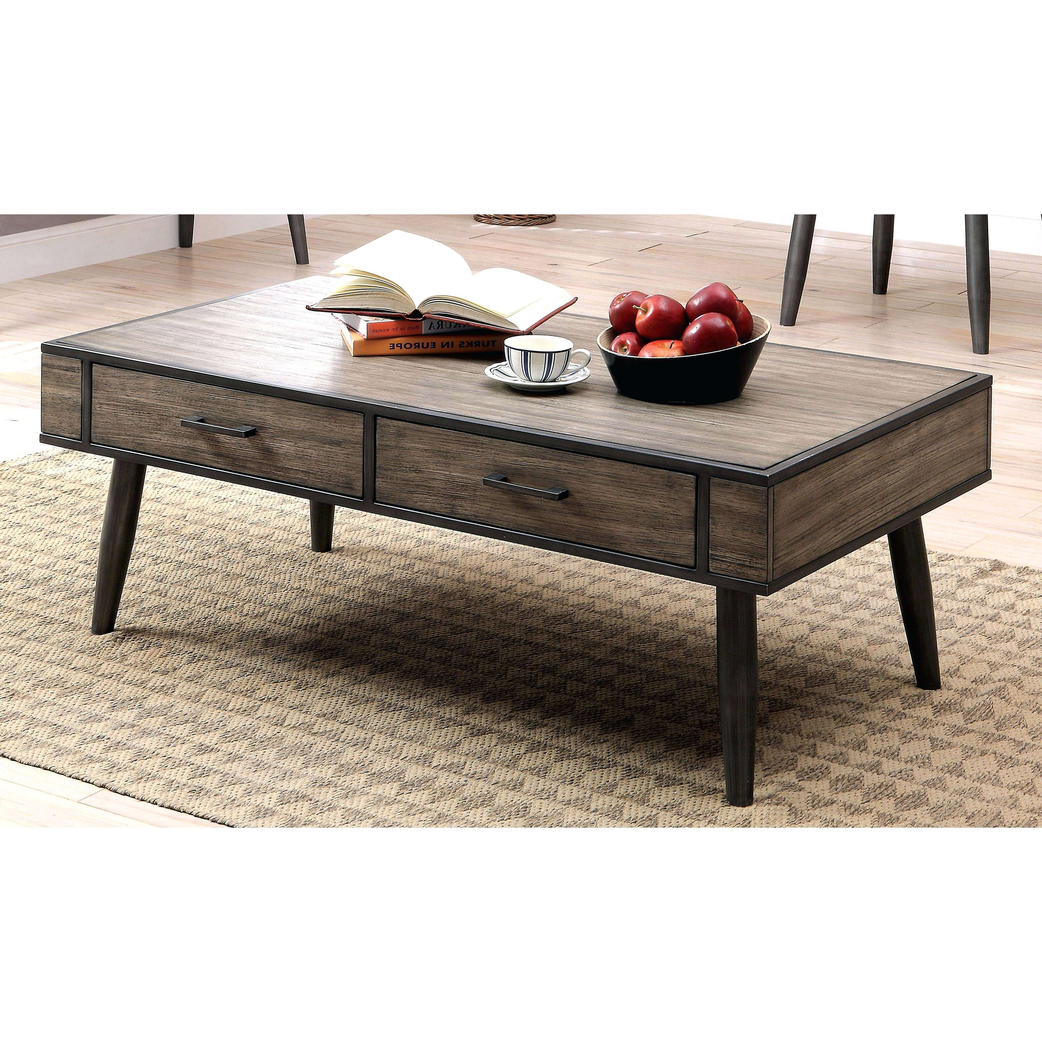 Coffee Tables : Furniture Of Mid Century Modern Industrial Style Pertaining To Recent Coffee Table Industrial Style (View 4 of 20)