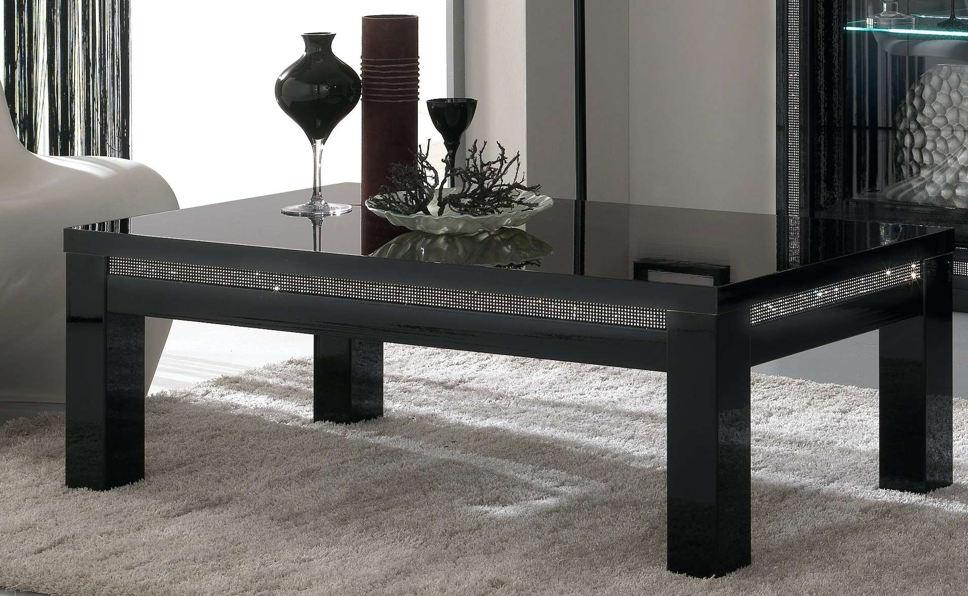 Coffee Tables : Furnitz Furniture Gallery Black Coffee Table And Intended For Fashionable Black Coffee Tables (View 8 of 20)