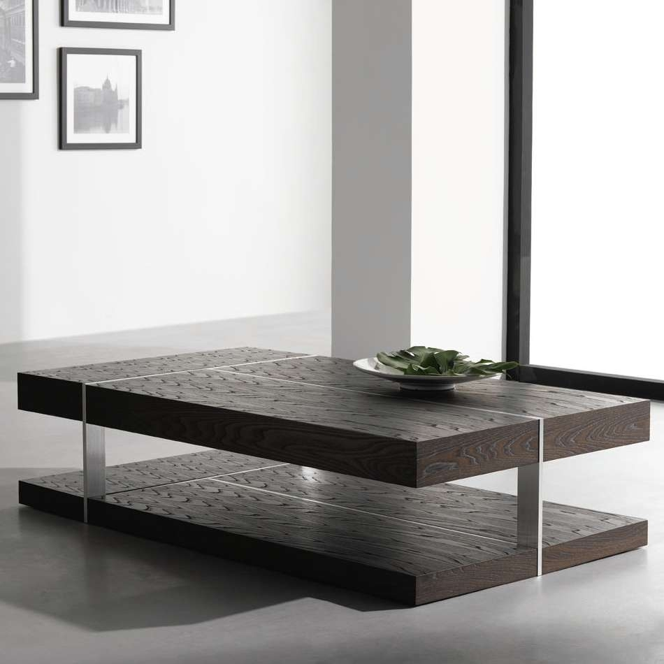 Coffee Tables : Glass Coffee Table Modern Top Small Black Regarding Trendy Large Contemporary Coffee Tables (View 7 of 20)