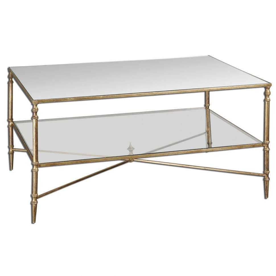 Coffee Tables : Gold Bamboo Glass Coffee Table Rascalartsnyc With With 2017 Gold Bamboo Coffee Tables (View 9 of 20)
