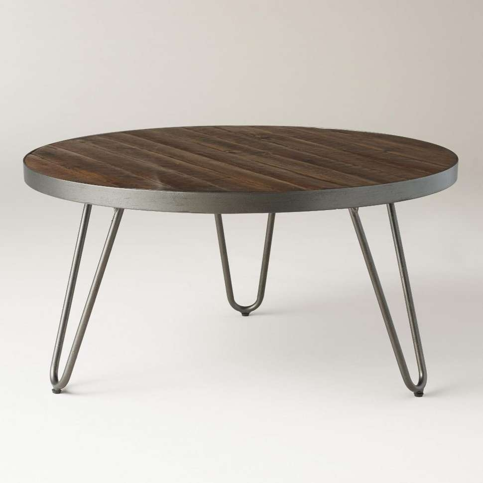 Coffee Tables : Gold Hairpin Legs Coffee Table With Storage Wood In Famous Short Legs Coffee Tables (View 9 of 20)