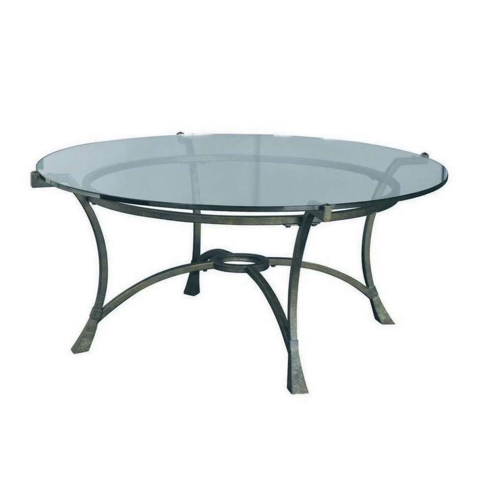 Coffee Tables : Hammary Sutton Round Piece Coffee Table Set Sets Regarding Fashionable Round Chrome Coffee Tables (Gallery 8 of 20)