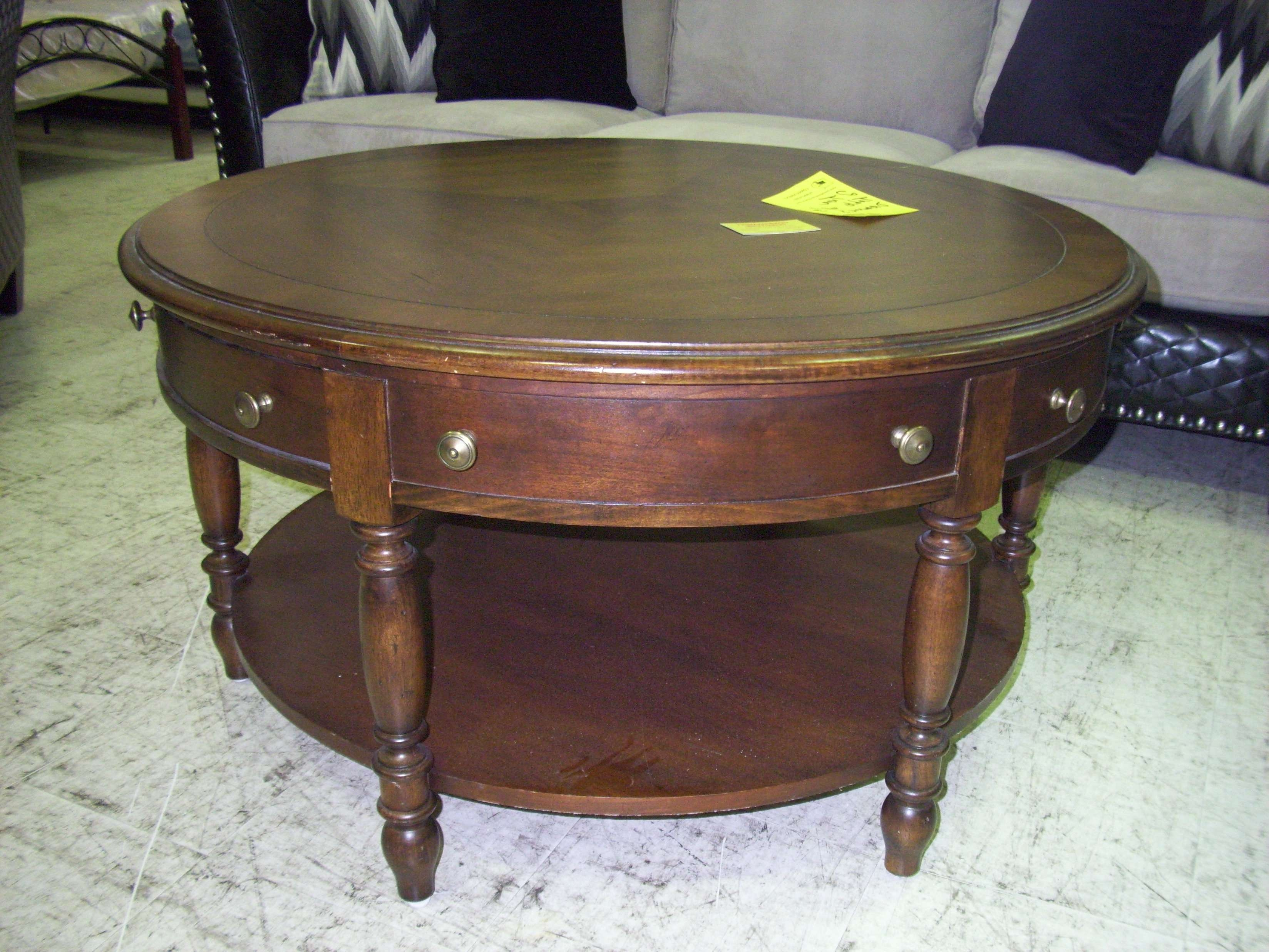 Featured Photo of Round Coffee Tables With Drawers