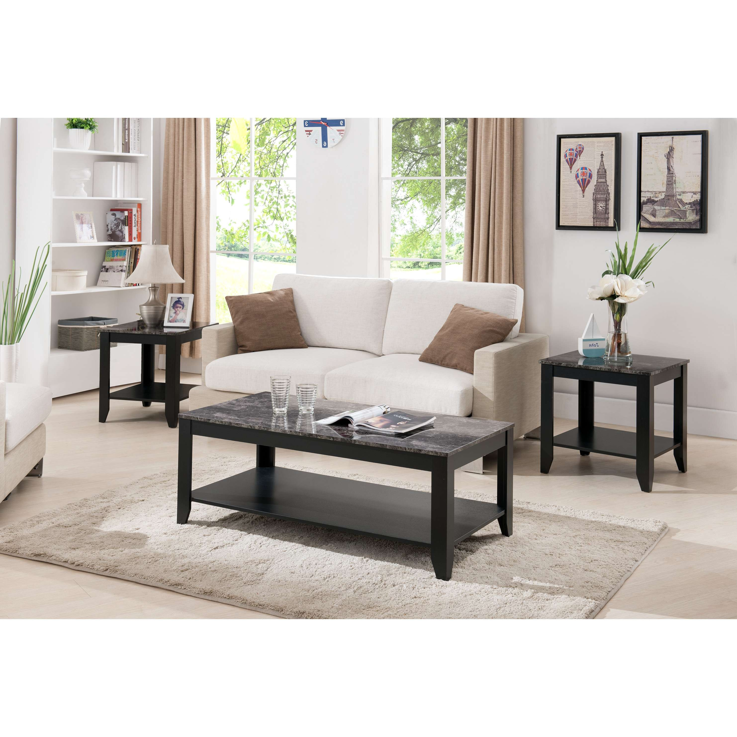 Coffee Tables Ideas: Astounding Coffee Table Sets With Drawers Regarding Latest Wayfair Coffee Table Sets (View 14 of 20)