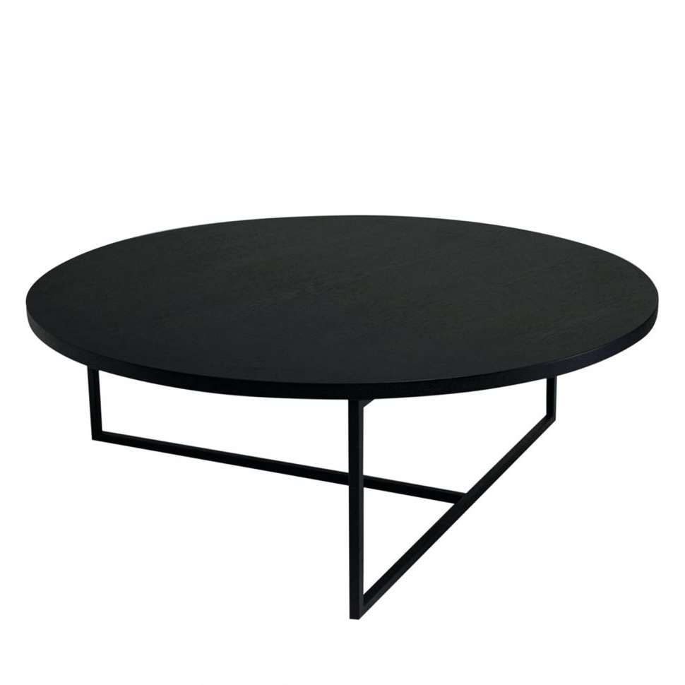 Coffee Tables : Ideas Black Circle Coffee Table Round For Can Pertaining To  Well Known Black