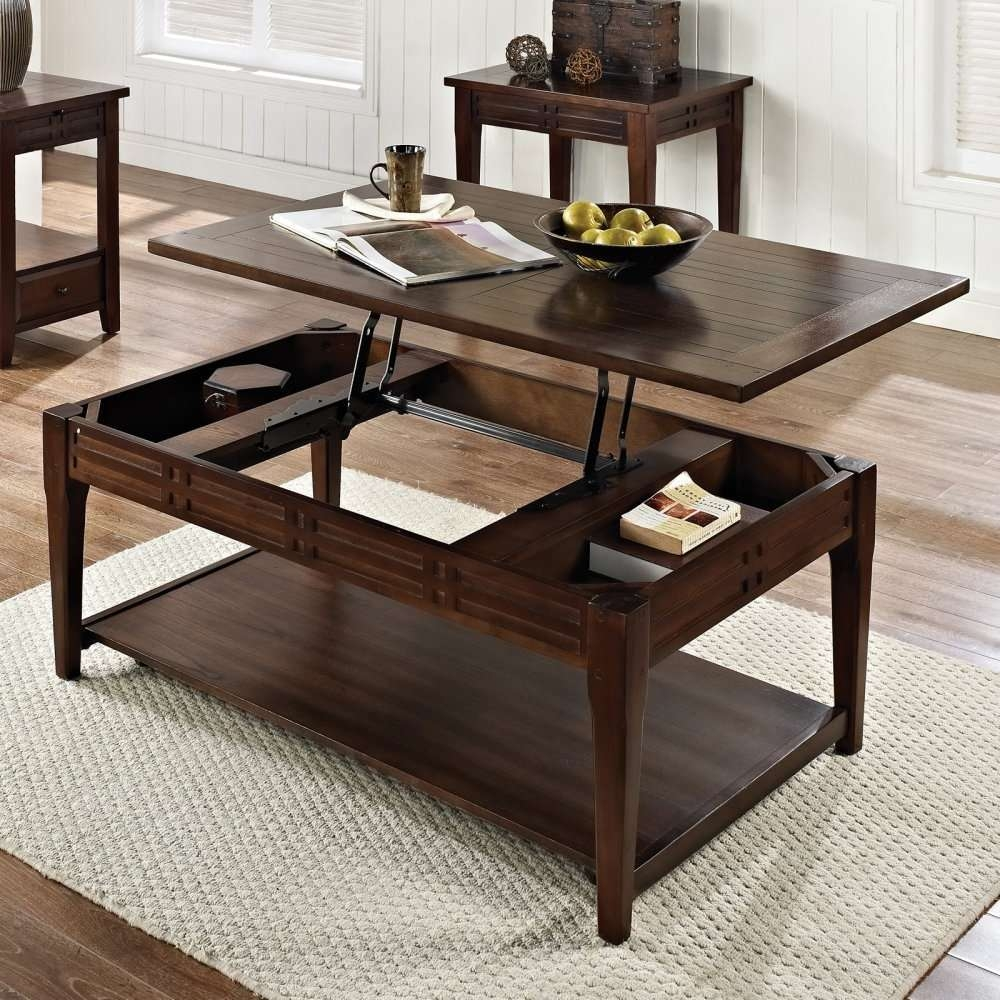 Coffee Tables Ideas: Coffee Table That Lifts Up To Eat Coffee In Favorite Lift Up Top Coffee Tables (View 20 of 20)
