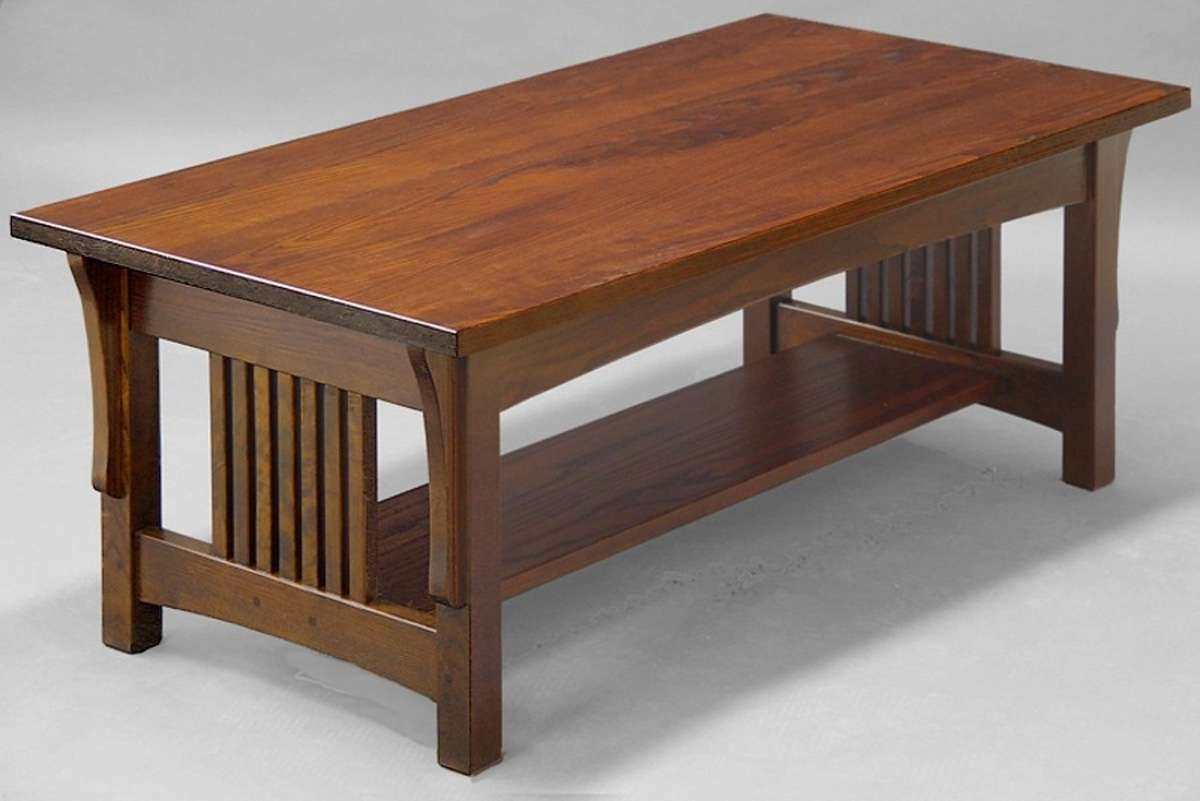 Coffee Tables Ideas: Extraordinary Mission Style Coffee Table Intended For Most Recently Released Rustic Style Coffee Tables (View 6 of 20)