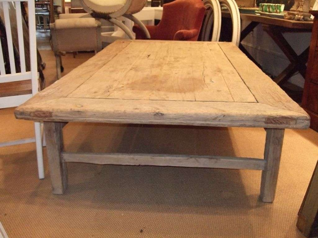 Coffee Tables Ideas: Huge Coffee Table Outstanding Designs Stuffs In Most Popular Extra Large Rustic Coffee Tables (View 11 of 20)