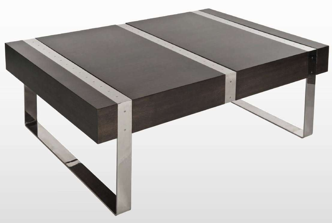 Coffee Tables Ideas: Simple Contemporary Coffee Table Metal Unique For Well Known Metal Coffee Tables (View 5 of 20)