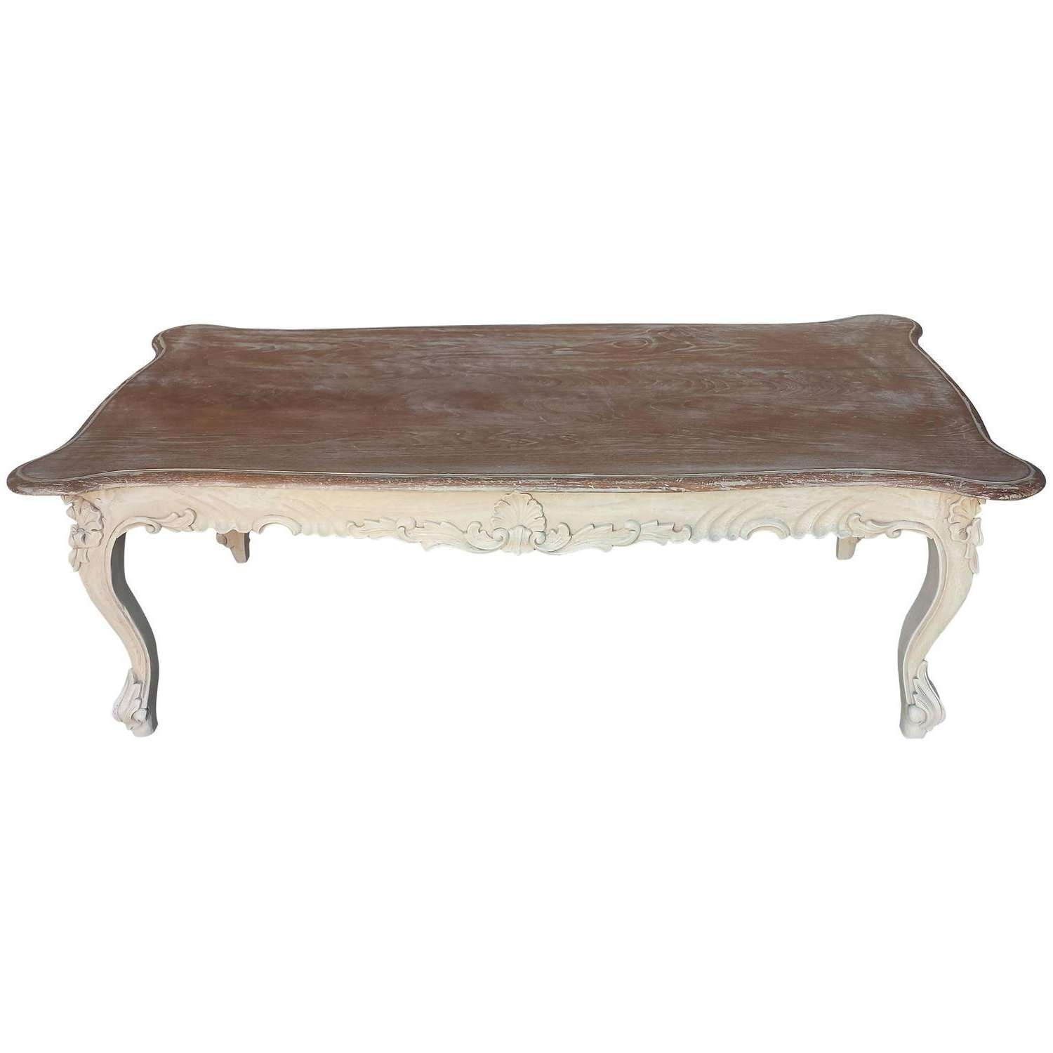 Coffee Tables : Image Of French Country Style Carved Coffee Table For 2018 Country French Coffee Tables (View 3 of 20)