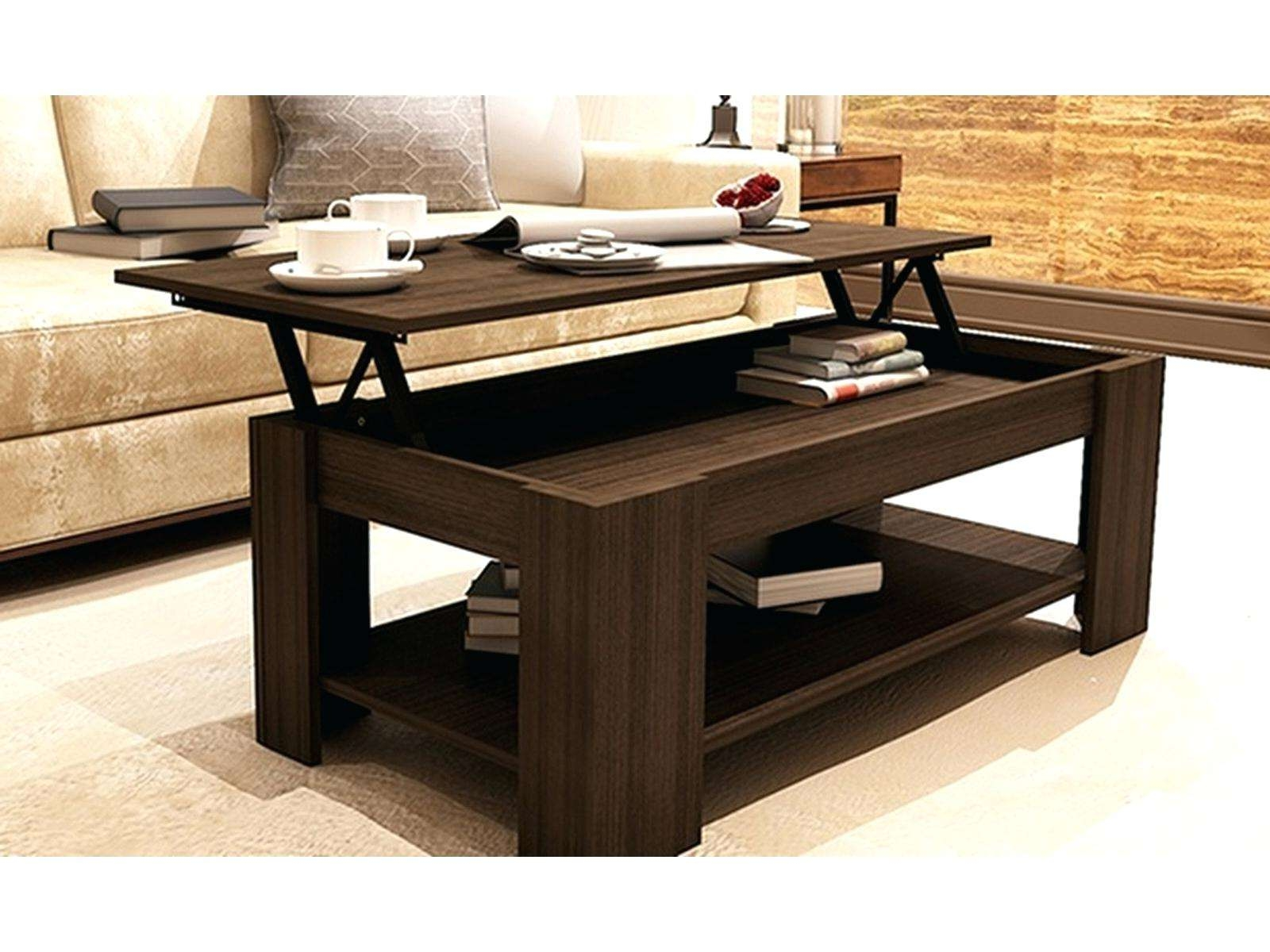 Coffee Tables : Image Wood Lift Top Coffee Table Ana White Diy With Regard To Best And Newest Coffee Tables Top Lifts Up (View 6 of 20)