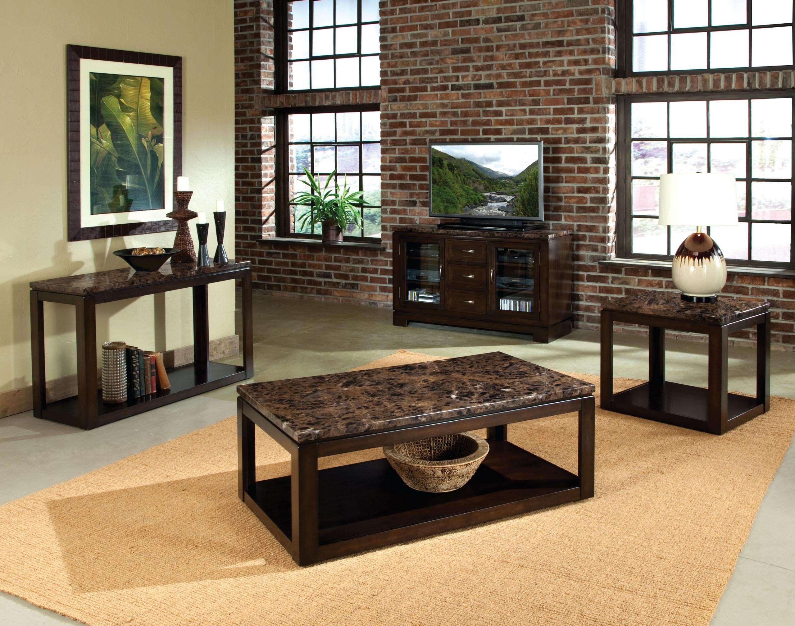 Coffee Tables : In Tables Furniture Coffee And End Table Sets For Regarding Tv Cabinets And Coffee Table Sets (View 10 of 20)