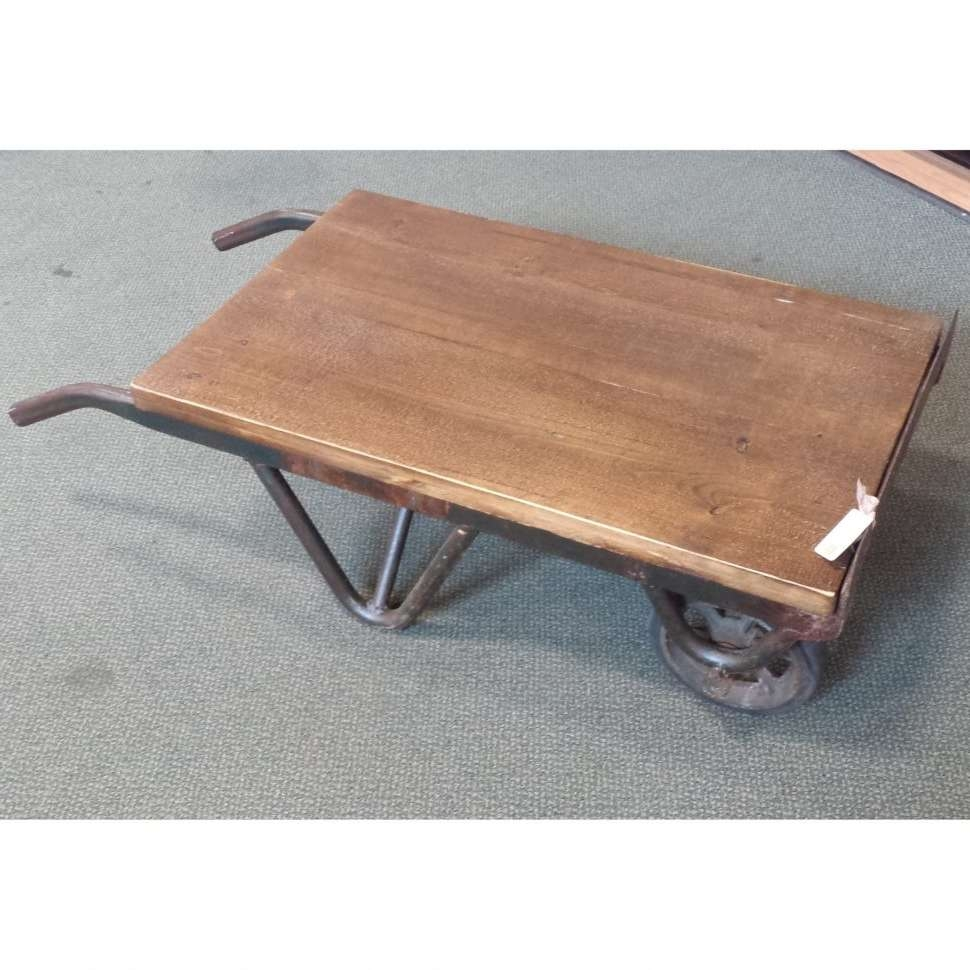 Coffee Tables : Industrialtable Industrial Coffee Tables Table Old With Most Current Low Industrial Coffee Tables (View 12 of 20)