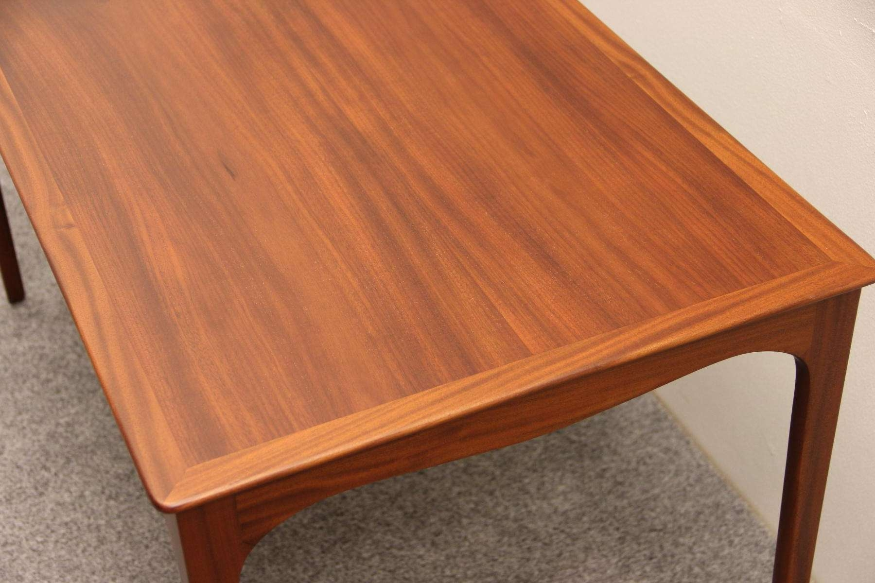 Coffee Tables : Large Military Style Mahogany Coffee Table With Regard To Newest Mahogany Coffee Tables (View 11 of 20)