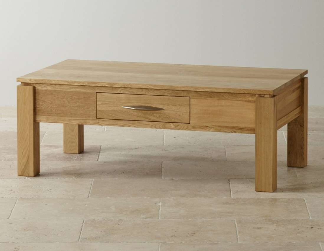 Coffee Tables : Large Oak Coffee Table Imposing Large Oak Effect Intended For Most Current Large Low Oak Coffee Tables (View 19 of 20)