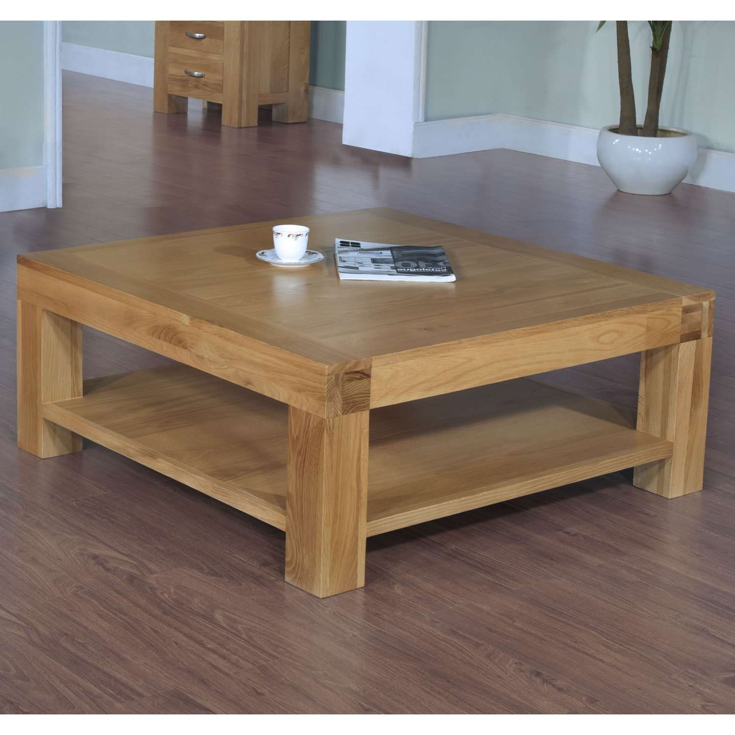 Coffee Tables : Mesmerizing Rustic Wood Coffee Table Reclaimed Log In Popular Rustic Square Coffee Table With Storage (View 7 of 20)