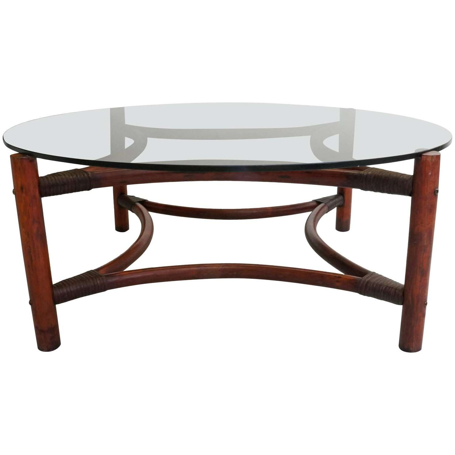 Coffee Tables : Mid Century Modern Round Kitchen Table Tables Sets Inside Favorite Round Woven Coffee Tables (View 3 of 20)