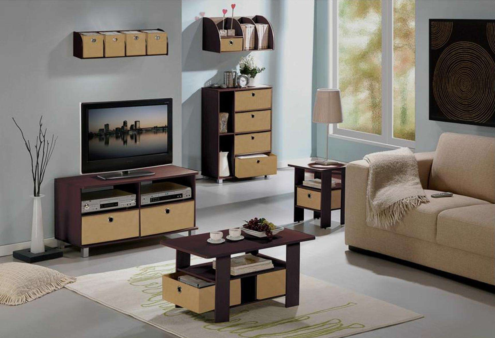 Coffee Tables : Outdoor Tv Cabinet Table Stand With Mount Side In Tv Cabinets And Coffee Table Sets (View 9 of 20)