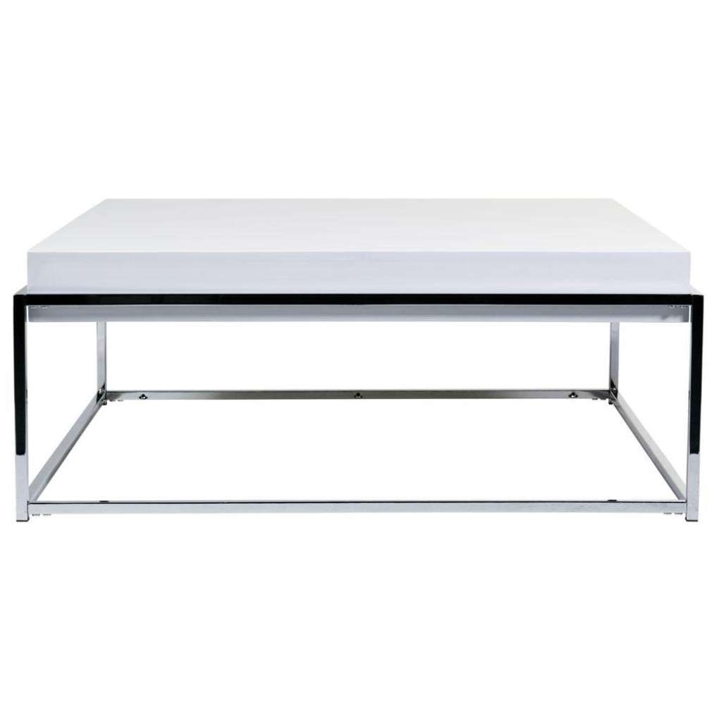 Coffee Tables Regarding Popular White And Chrome Coffee Tables (View 2 of 20)