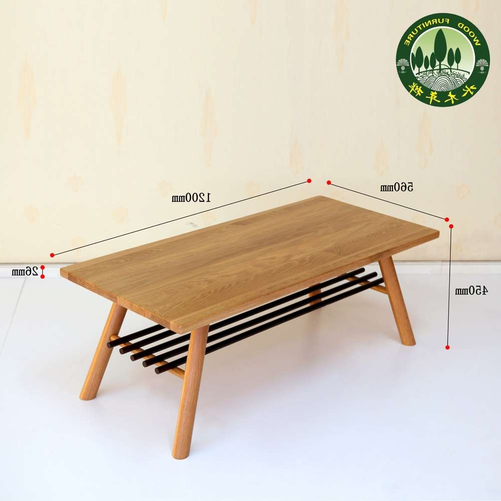 Coffee Tables Resin Wonderful Japanese Table Block For Best And Newest Low