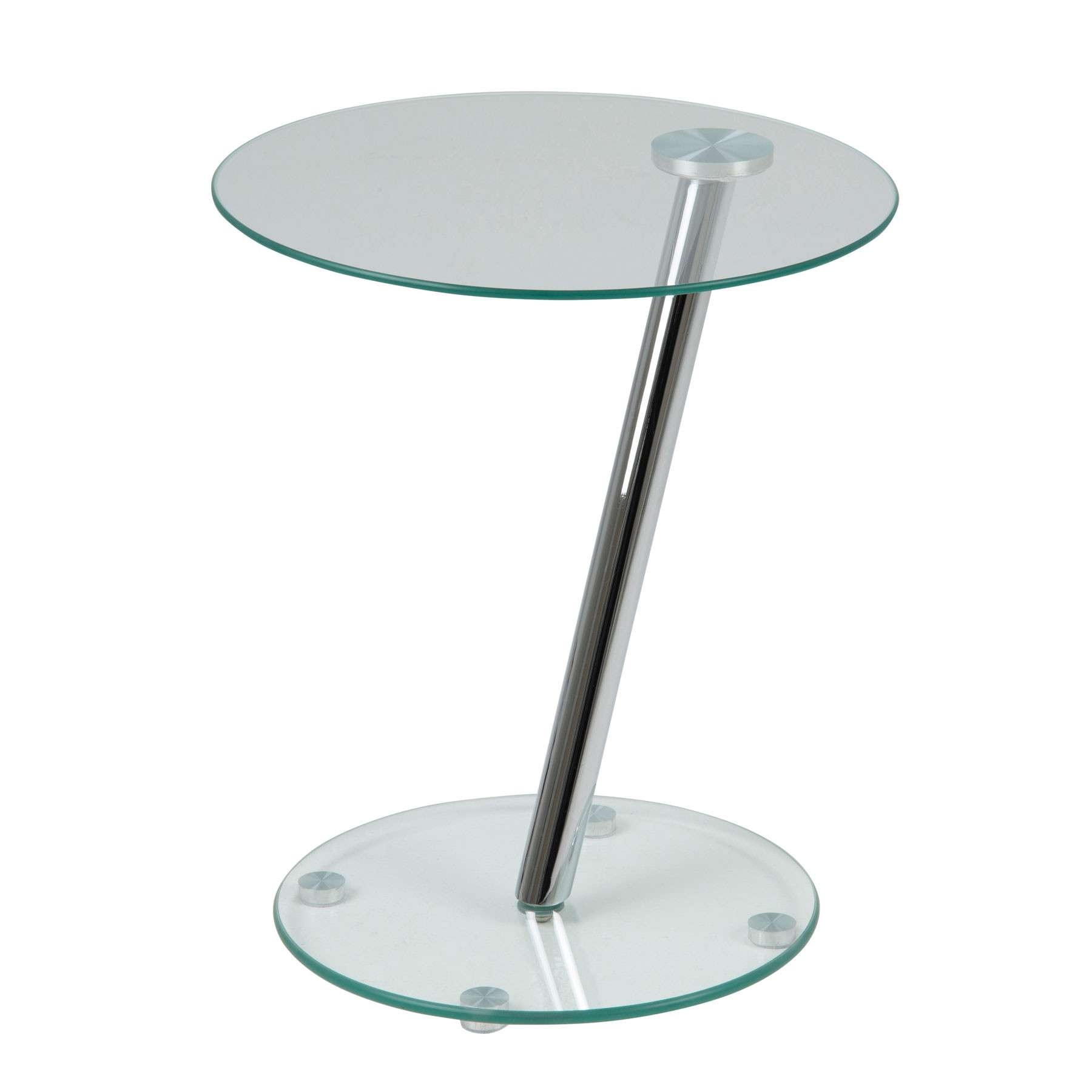 Coffee Tables : Round Glass Side Table Ikea Small Ebay Coffee For 2017 Circular Glass Coffee Tables (View 7 of 20)