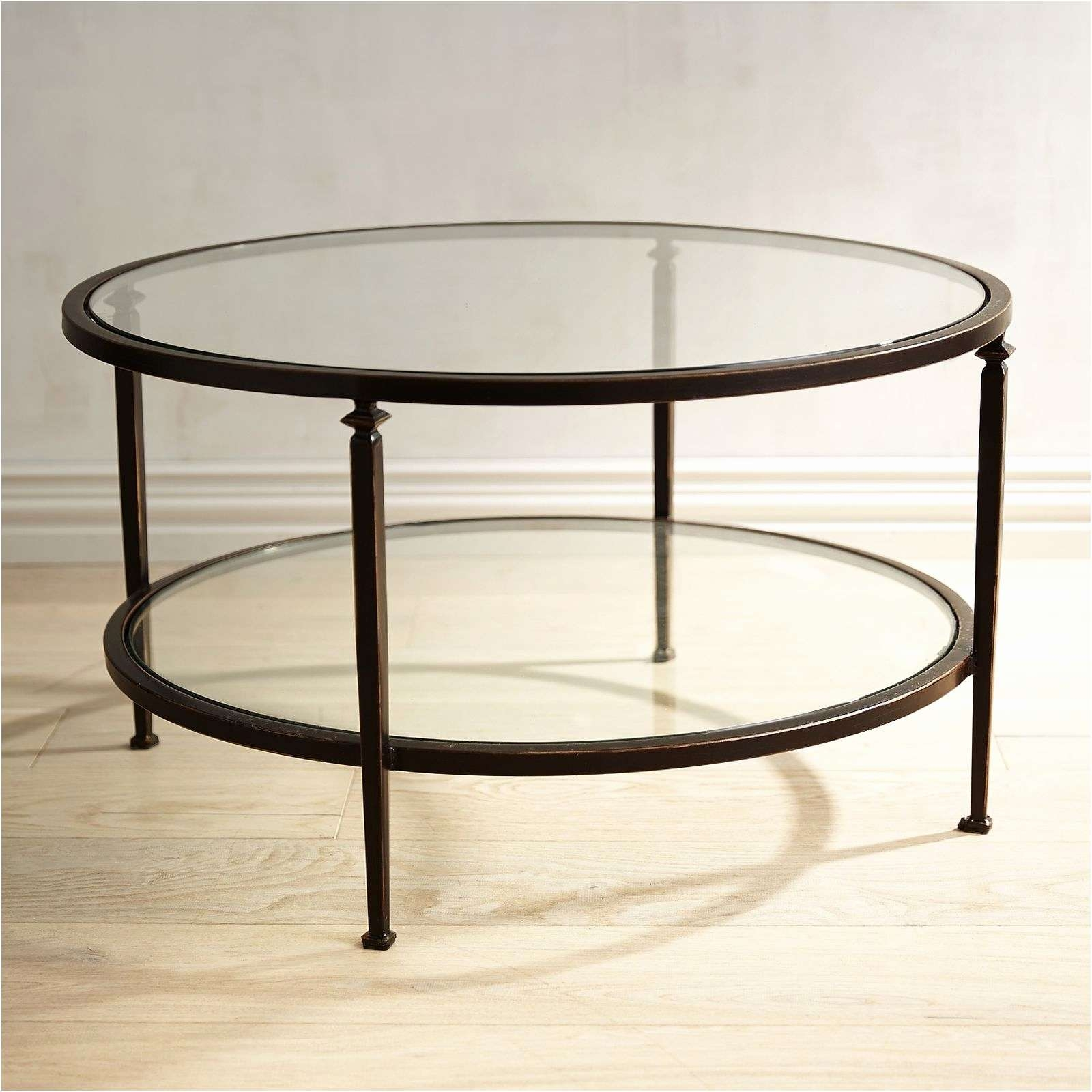 Coffee Tables : Round Gold Coffee Table Uk Leaf Ikea White And Pertaining To Most Recently Released Unique Glass Coffee Tables (View 7 of 20)