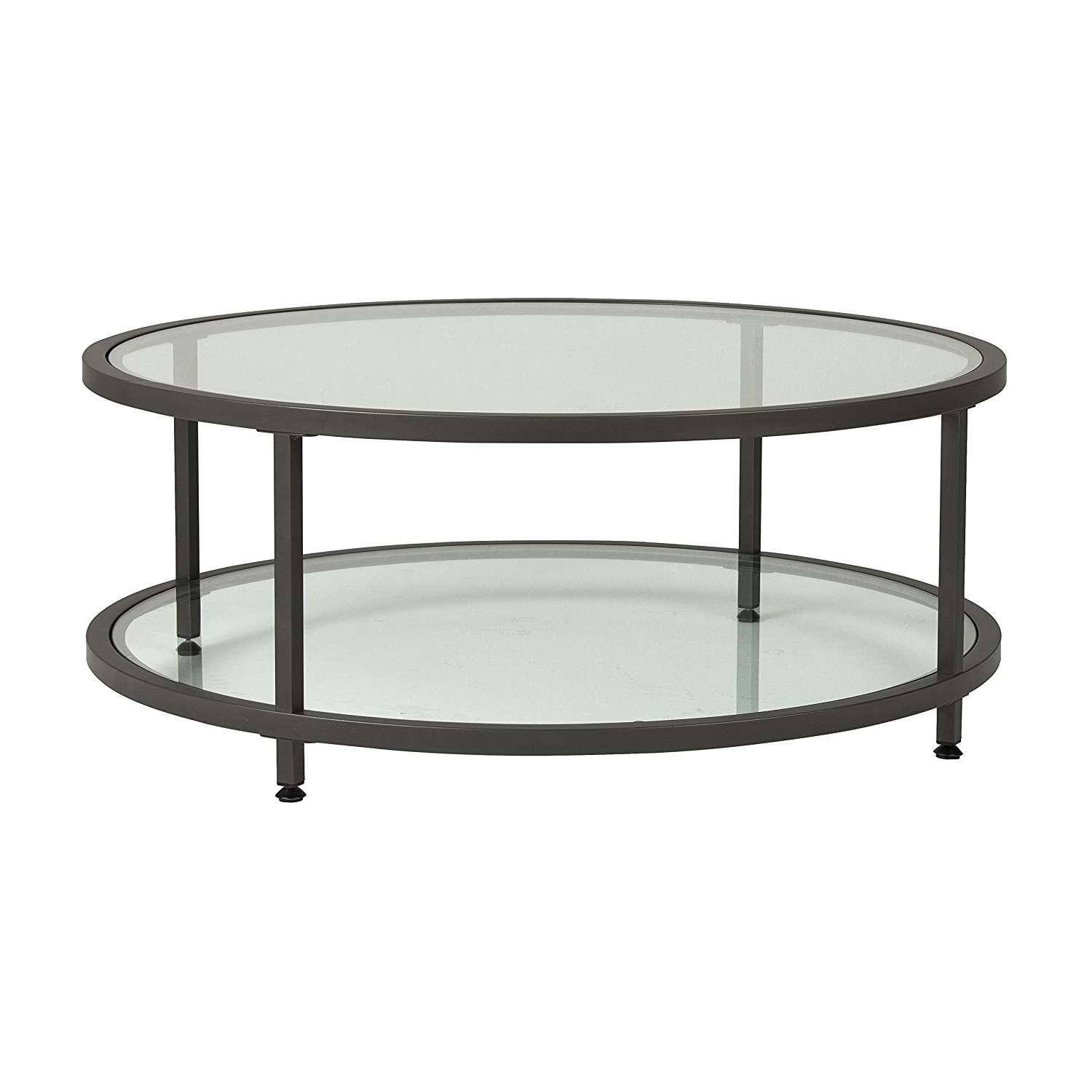 Coffee Tables : Round Metal Coffee Table New Of Iron Furniture In Favorite Large Glass Coffee Tables (View 7 of 20)