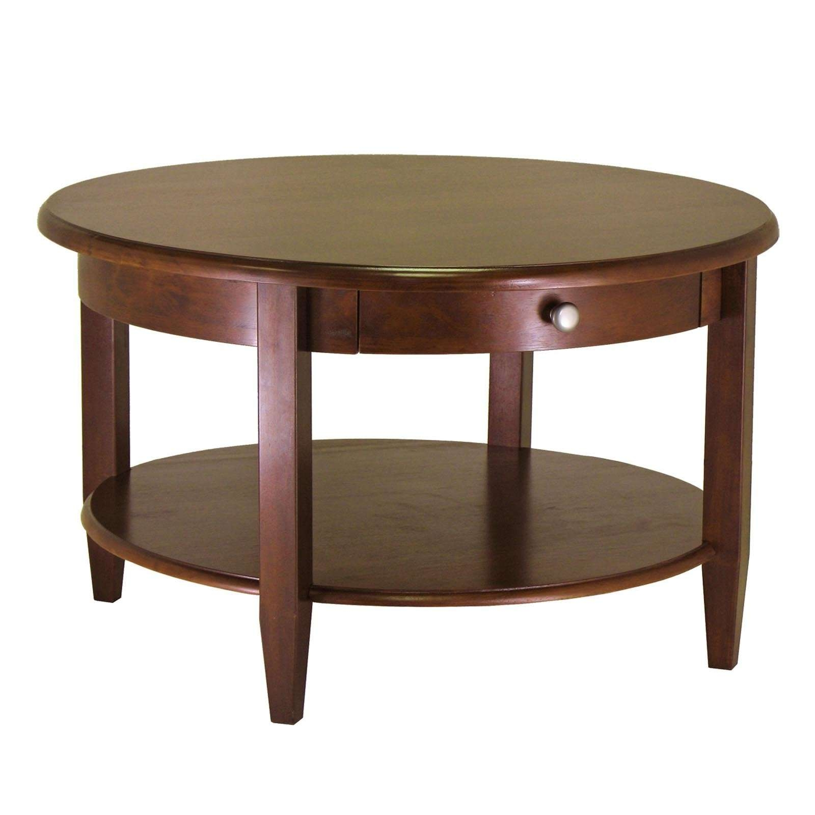 Coffee Tables : Round Table Coffee Glass Top Circle Square And Pertaining To Most Recently Released Small Circle Coffee Tables (View 7 of 20)