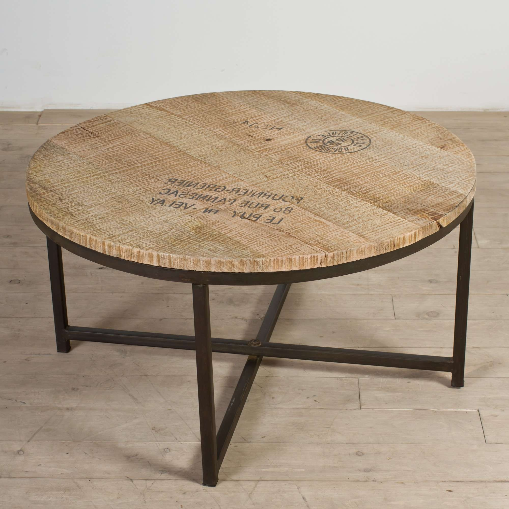 Coffee Tables : Round Table Coffee Glass Top Circle Square And Within 2017 Small Circle Coffee Tables (View 6 of 20)