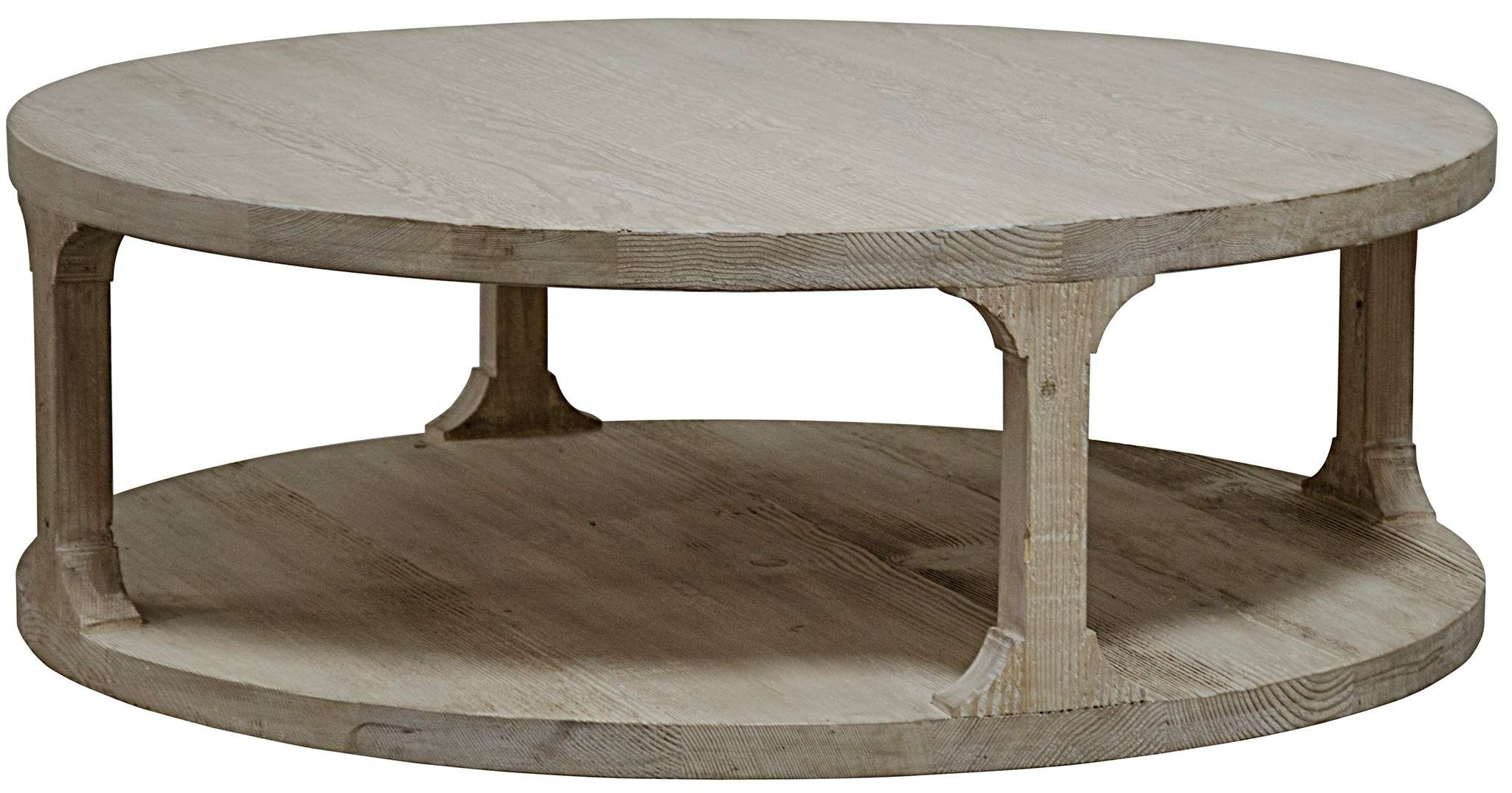 Coffee Tables : Rustic Round Coffee Table Transitional Medium Within Well Liked Round Coffee Tables (View 9 of 20)