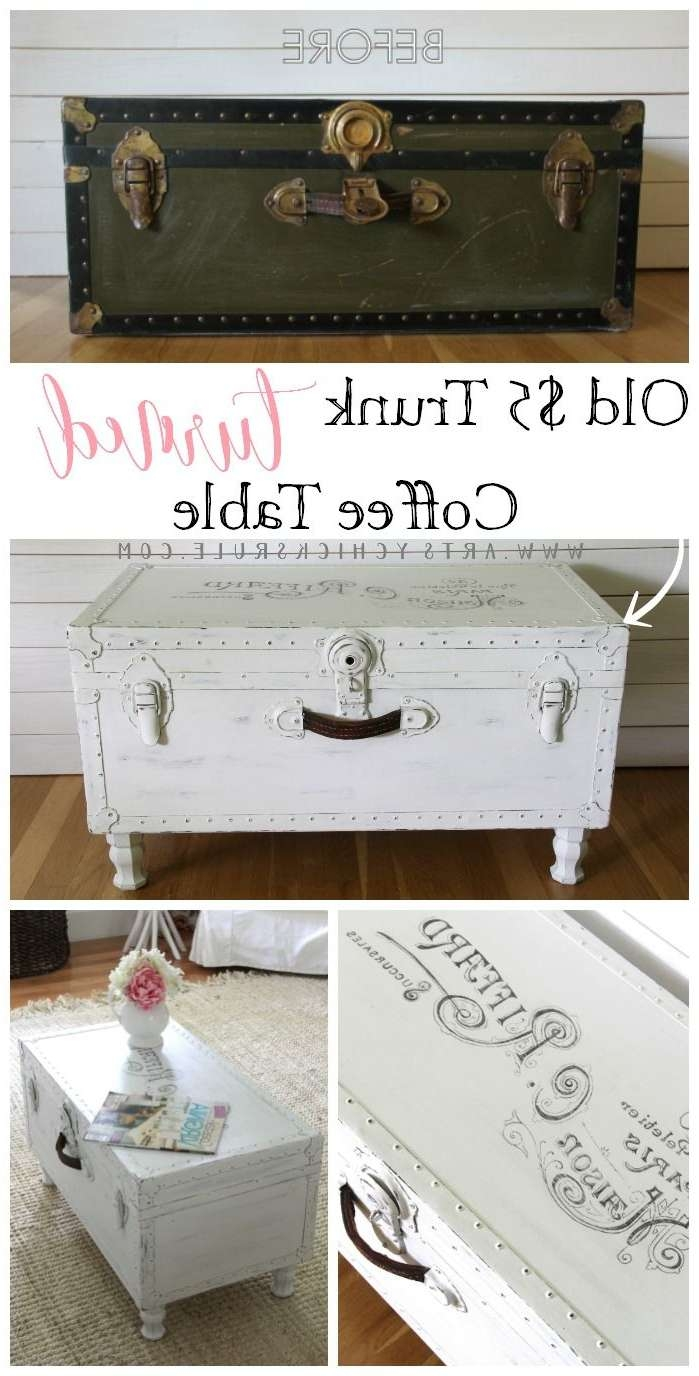 Coffee Tables : Rustic Trunk Coffee Table Fresh Hope Chest Of As In 2017 Old Trunks As Coffee Tables (View 5 of 20)
