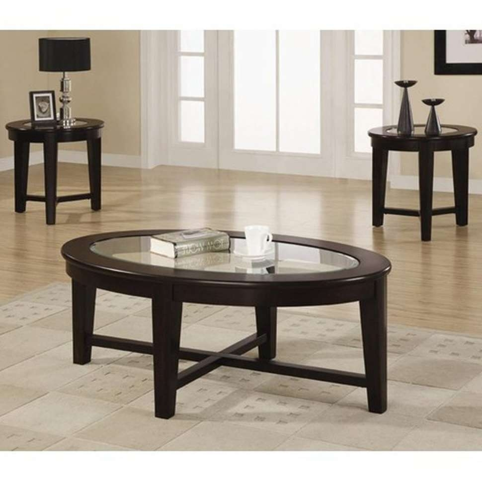 Coffee Tables : Silver Coffee Table Round Glass Living Room End Throughout Famous Half Circle Coffee Tables (View 7 of 20)