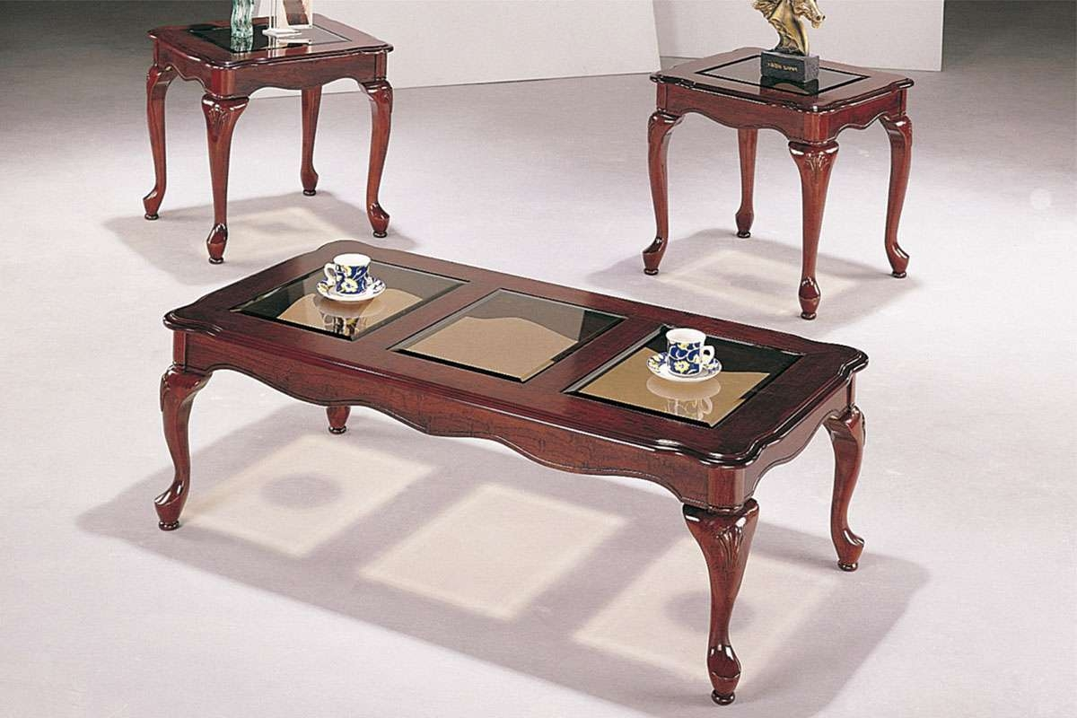 Coffee Tables : Small Antique Coffee Table Set Tables Vintage In Trendy Antique Glass Coffee Tables (View 3 of 20)