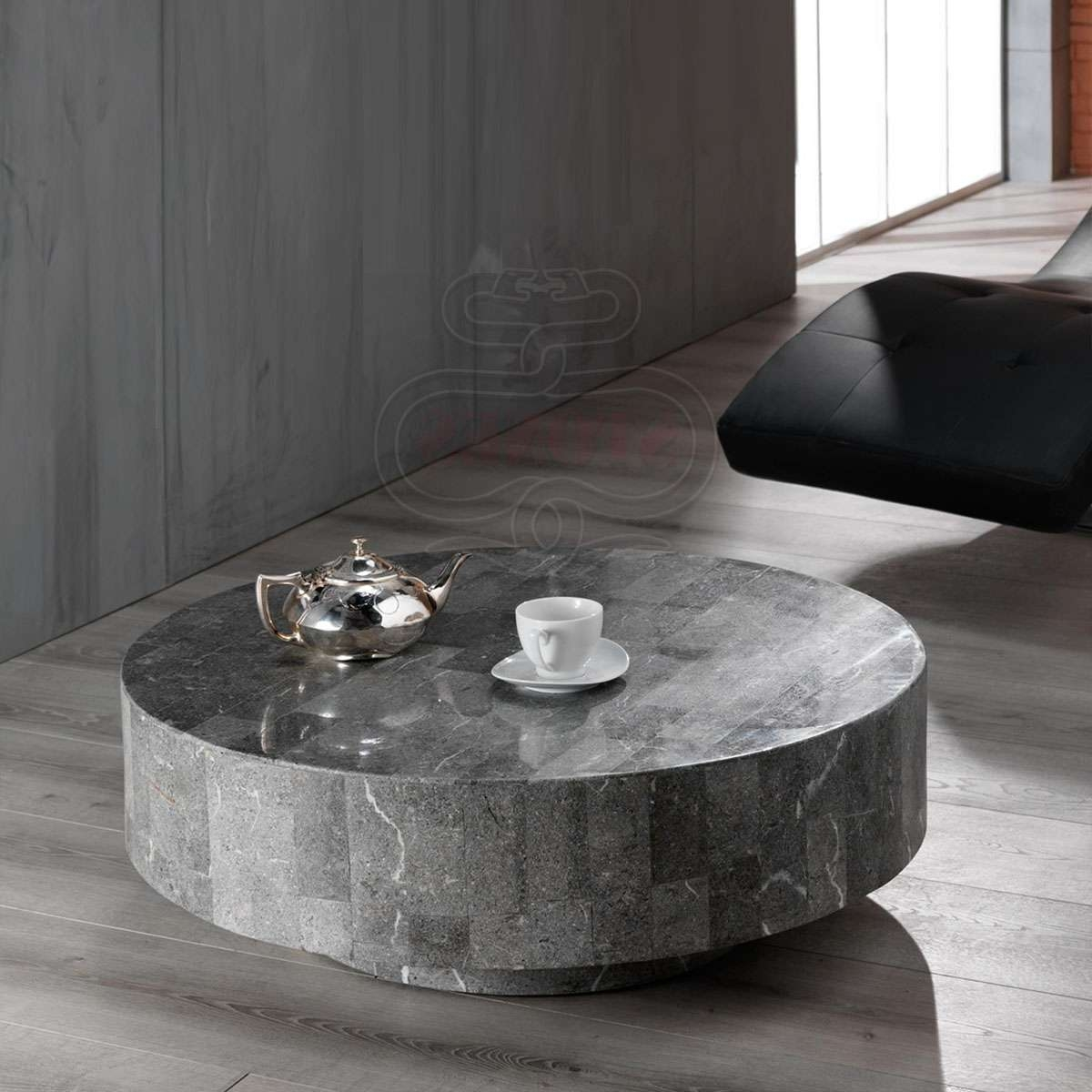 Coffee Tables : Splendid Coffee Table : Grey Coffee Table Straas Inside Well Known Round High Gloss Coffee Tables (View 5 of 20)