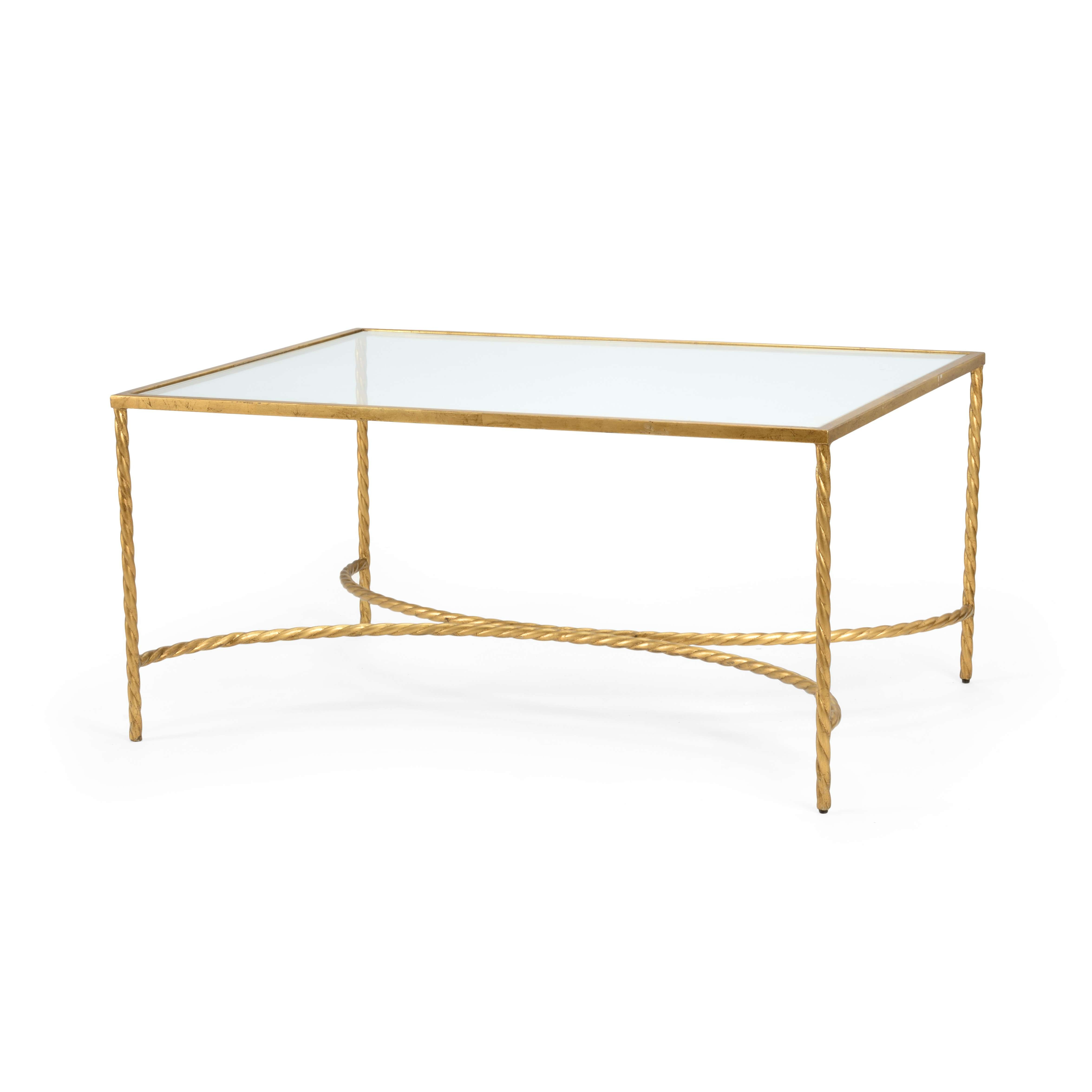 Coffee Tables : Square Glass Coffee Table With Ottomans Large With Regard To Well Liked Solid Glass Coffee Tables (View 6 of 20)