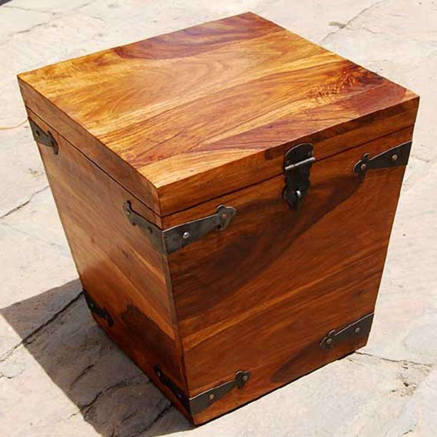 Coffee Tables : Square Trunk Coffee Table Modern Tables Rustic With Popular Large Trunk Coffee Tables (View 6 of 20)
