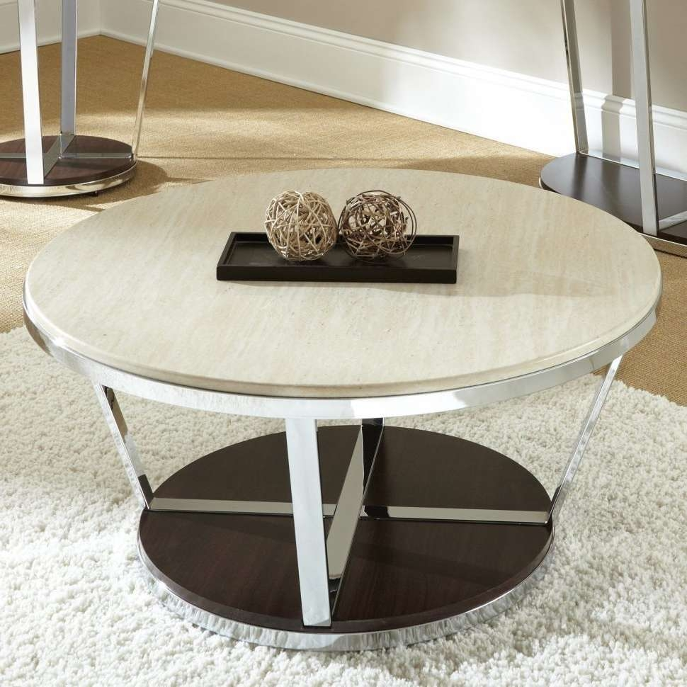 Coffee Tables : Stone Coffee Table Top Granite Round And Glass Within Trendy Square Stone Coffee Tables (View 16 of 20)