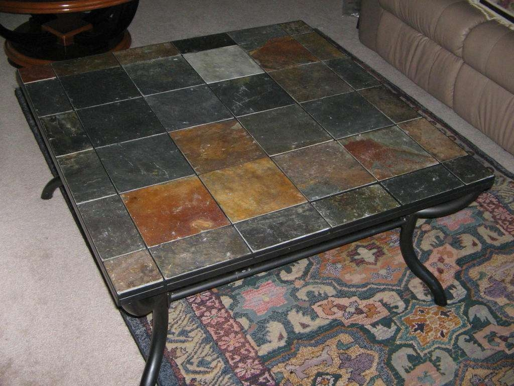 Coffee Tables : Stone Top Coffee Tables Acrylic Coffee Table Pertaining To Favorite Square Stone Coffee Tables (View 10 of 20)