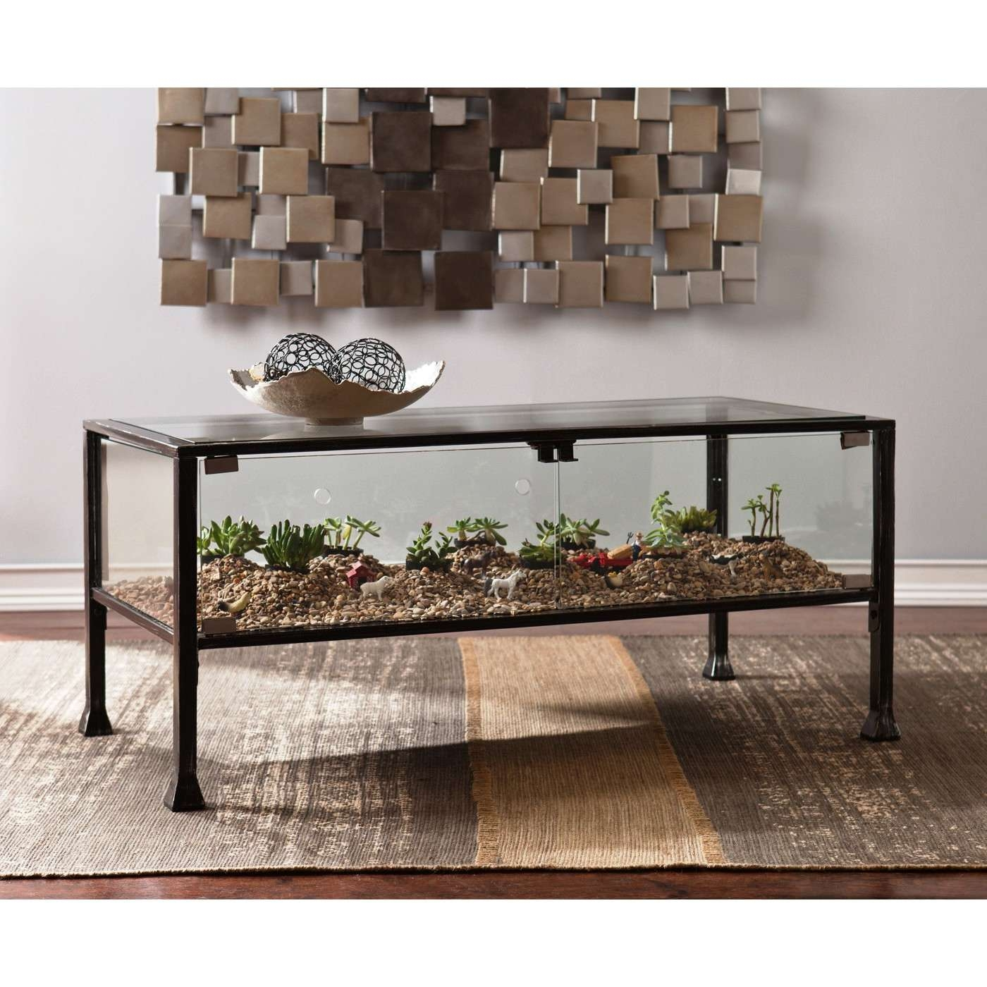 Coffee Tables : Stylish Dark Tempered Oval Glass Coffee Table Inside Well Liked Floating Glass Coffee Tables (View 10 of 20)