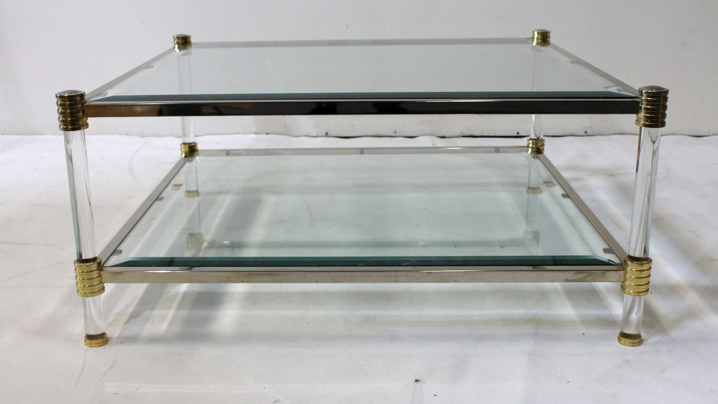 Coffee Tables : Table Small Glass Coffee Side Design Cocktail With Widely Used Retro Glass Coffee Tables (View 7 of 20)