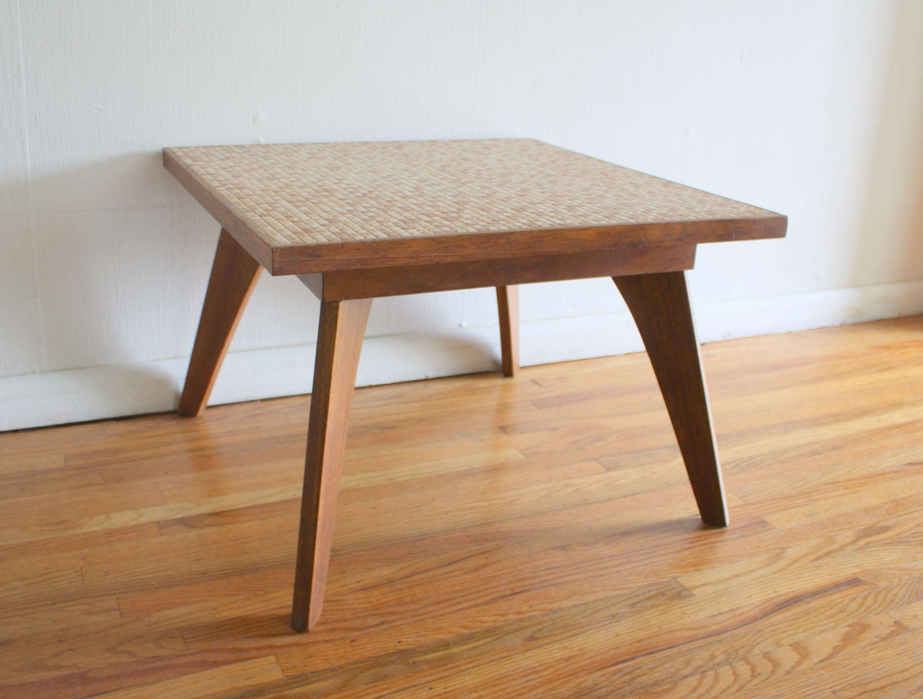 Coffee Tables : Tile Top Coffee Table Mid Century Modern Tables Pertaining To Widely Used Retro Oak Coffee Tables (View 8 of 20)