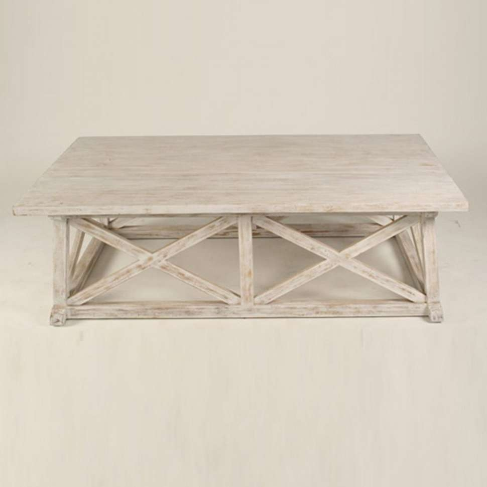 Coffee Tables : Trendy Coffee Tables White Wash Finish Bear Table In Trendy Retro White Coffee Tables (View 17 of 20)